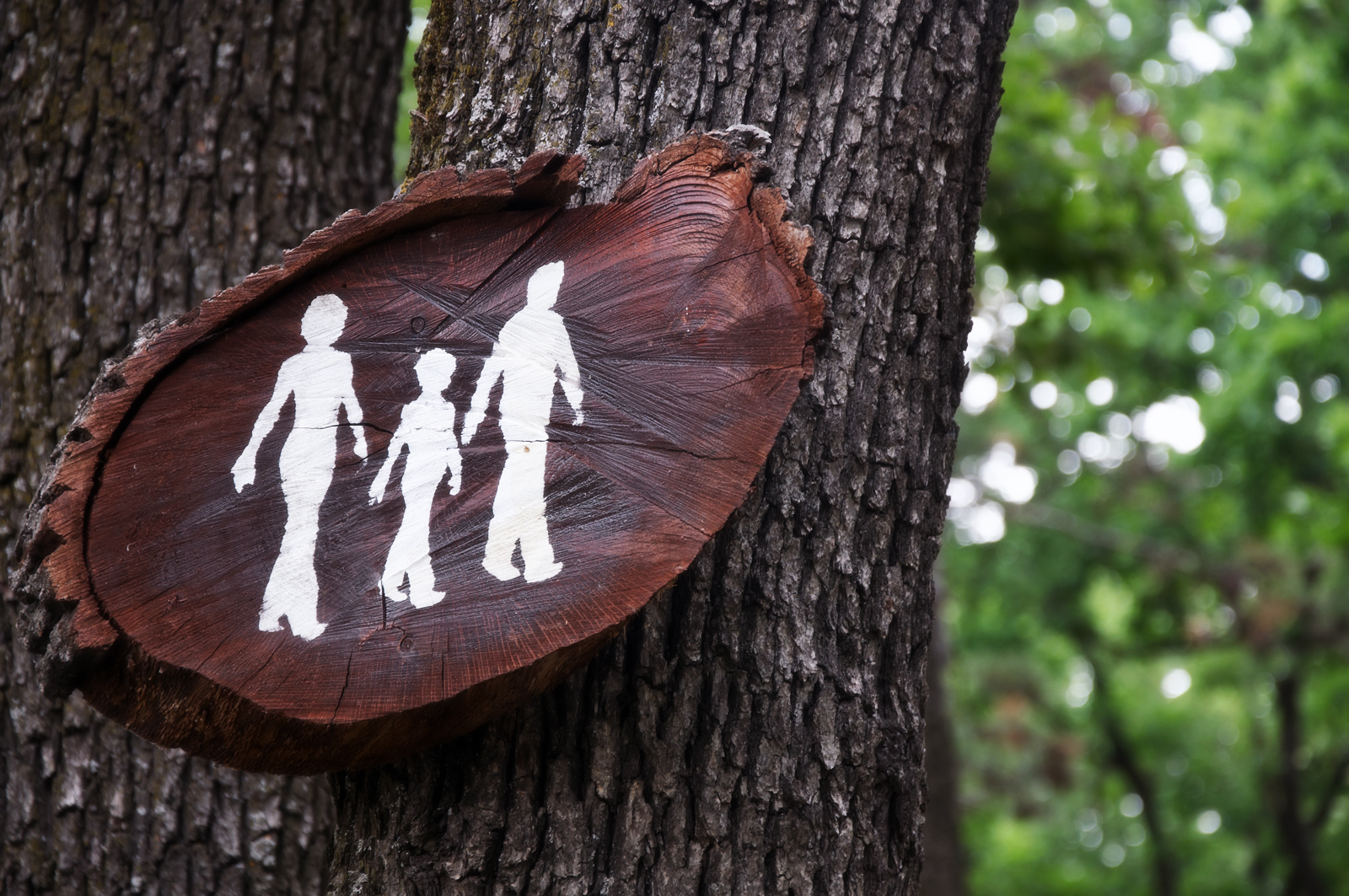 Family Trail Sign